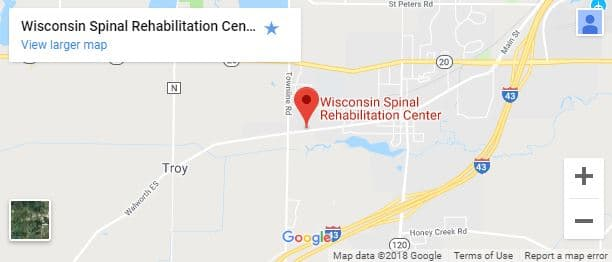 East Troy Chiropractor Map